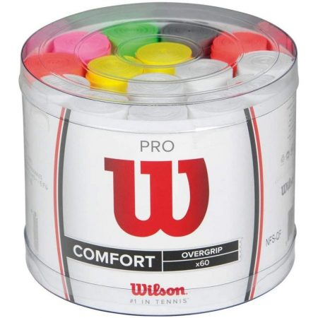 Wilson Pro Overgrip 60 pack Tennis Grip - Assorted Colors
